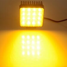 4.5 inches 48W LED Square Work Light Yellow Fog Lamp Forklift Truck Jeep Offroad