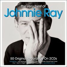 Johnnie Ray VERY BEST OF 50 Original Recordings ESSENTIAL COLLECTION New 2 CD