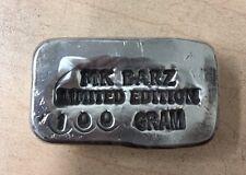 100 gram silver bar .999 FS MK BARZ