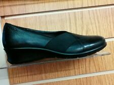 Ecco 217023 ladies black slip on shoe size 37 SALE €80