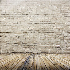 6X9FT Brick Wall Floor Vinyl Photography Background Backdrop Studio Photo ZZ44