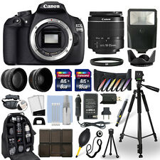 Canon EOS 1200D DSLR Camera + 18-55mm Lens + 24GB Multi Accessory Bundle
