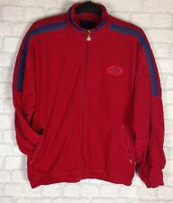 URBAN Renewal 90s UMBRO Cappotto giacca Giacca a vento vintage con Sports UK XL