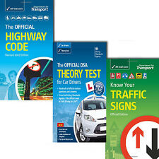 The Official DSA 3 Books Set,The Official Highway Code,Know your traffic signs