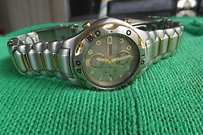 Citizen Eco Drive Alarm Chronograph Watch GN-4-S ...Stainless Steel ...WR200