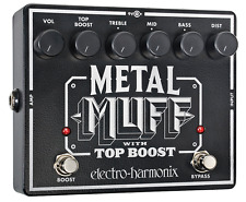 EHX Electro Harmonix Metal Muff with Top Boost, Brand NEW, Free Shipping