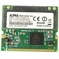 Atheros AR5008 AR5416 Mini PCI  N 802.11N 300M WIFI Wireless Card For Dell