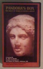 ellen d reeder PANDORAS BOX roles of women in ancient greece vol 1 VHS VIDEOTAPE