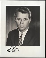 ROBERT KENNEDY SIGNED PHOTO TO BARBARA COOK HV8174