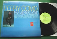 Perry Como No Other Love inc We Kiss In A Shadow & If + INTS 1316 LP