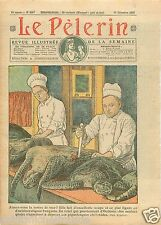 Sea Turtle Soupe Tortue de Mer Recette Grand Restaurant Paris 1927 ILLUSTRATION