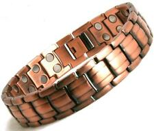 Mens Ultimate Powerful Stylish Quality Magnetic Bracelet 42 Magnets  (SB28)
