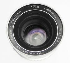 Rodenstock 50mm f1.9 Heligon Iloca mount   #4314811