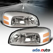 2005-2009 Chevy Uplander/05-07 Buick Terraza Headlights Replacement Lamps Pair