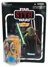 Star Wars ROTS Yoda Vintage Collection Revenge of the Sith VC20 Unpunched