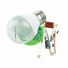 1 Set Energy-Saving 38 LEDs Green Lamps DIY Kits Electronic Suite