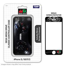 SEGA Mega Drive Controller Silicon Case w/Screen Protector for iPhone 5/5s