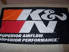 6 FT BY 3  FT - K & N FILTERS -   BANNER   GAS MONKEY - STREET OUTLAWS