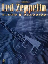 Led Zeppelin Blues Classics : Guitar Personality Book by Led Zeppelin (1996, Pap