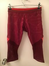 "NWT Adidas by Stella McCartney ""Run 3/4 Tight"" Crops - Size S Small"