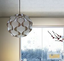 lightshade lampshade retro lamp pendant light shade ceiling white 30cm