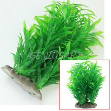 Artificial Water Plants for Fish Tank Aquarium Plastic Grass Decor Ornament