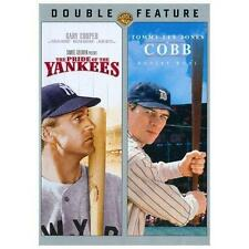 NEW/SEALED - The Pride of the Yankees/Cobb (DVD, 2013, 2-Disc Set)