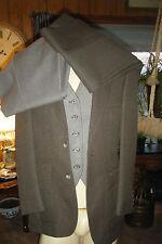 DILLARDS Men's 4 Piece Brown SUIT Blazer Vest 2 pr Pants Vest is reversible