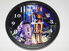 Star Wars C-3PO and R2-D2 10 Inch Plastic Wall Clock