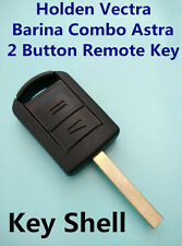 Holden Vectra Barina Combo Astra 2 Button Remote Key Fob Case Shell