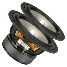 "Pair Fountek FW146 5.25"" Aluminum Midwoofer Speaker 8ohms 70W 86.1dB 1.02"" Coil"