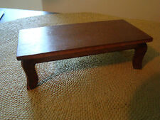 Vintage Wooden Coffee Table Living Room Dollhouse Furniture 261541