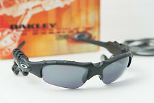 Oakley Thump 128MB Matte Black/Black Iridium Sunglasses w/box + USB