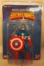 "Marvel Secret Wars Jumbo 12"" Captain America With Shield Gentle Giant Shield MIP"