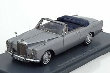 neo 1/43  Bentley S II Mulliner Park Ward DHC Silver Limited Edition 300 pcs.