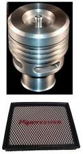 Ford Focus ST silver Collins Dump Valve Kit AND Pipercross Panel Air Filter