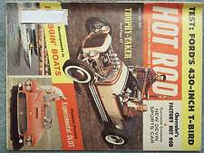 1959 JULY HOT ROD MAGAZINE VOL 12 NO 7 FORD'S 430-INCH T-BIRD  EXPERIMENTAL OLDS