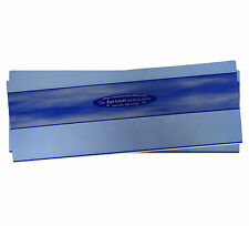 2x SKY BLUE Coloured Tinted Duo Window Reading Ruler Aid Overlay Rulers Dyslexia