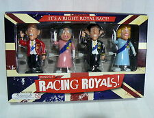 PALADONE British Racing Royals London 4 Wind Up Toys Queen Prince Philip Charles