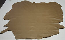 LEATHER COW HIDE ANTIQUE BEIGE AUTOMOTIVE UPHOLSTERY CRAFTS COWHIDES TS11222