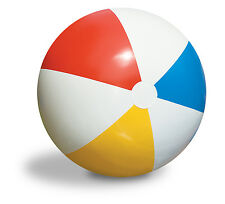 "Inflatable Blow up Panel Beach Ball 16"" 41cm Fun Holiday Party Swimming Garden"
