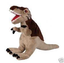 Ravensden Dinosauro T-Rex realistico PELUCHE GIOCATTOLO MORBIDO MARRONE 38cm fr056ty