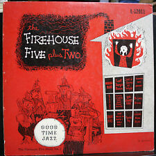 VINYL RECORD THE FIREHOUSE FIVE PLUS TWO GOOD TIME JAZZ L-12011 VOLUME 2