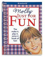 American Girl MOLLY JUST FOR FUN BOOK ~Crafts, Games & Puzzles~NEW~Gift Idea