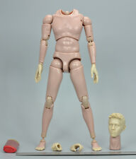 "E 1/6 Scale Action Body w/Head Hands for HT Dam CD Crazy Dummy 12"" Action Figure"
