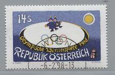 Österreich Austria 2243 Olympische Winterspiele, Nagano (Japan) 1998 gestempelt
