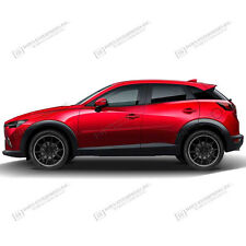 For: MAZDA CX3; PAINTED Body Side Mouldings Moldings Trim 2016-2017