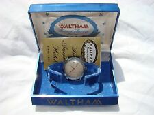 WALTHAM Wristwatch 53 Men Automatic Self-Winding Incabloc with Box and Paper
