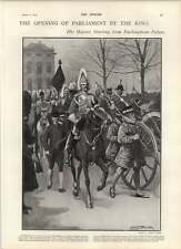 1902 Royal Horse Artillery Leeds Procession From Buckingham Palace The Speaker