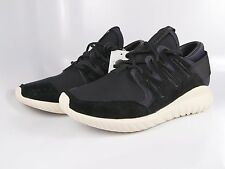 ADIDAS TUBULAR NOVA SZ 9.5 S74822 Black Black White 100% Authentic, Brand New!